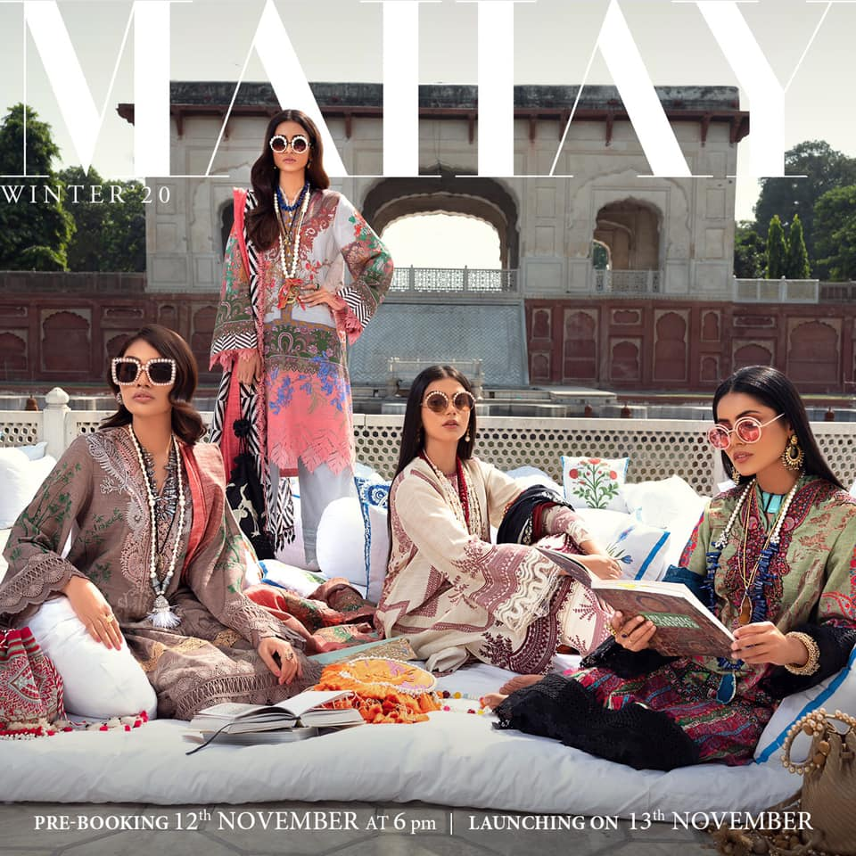 Sana Safina Unstitched Luxury Fall Winter Collection 2021