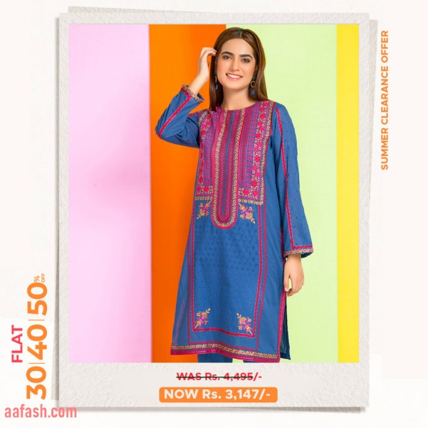 Warda Ready to Wear Fancy shirt with inner Collection 2021
