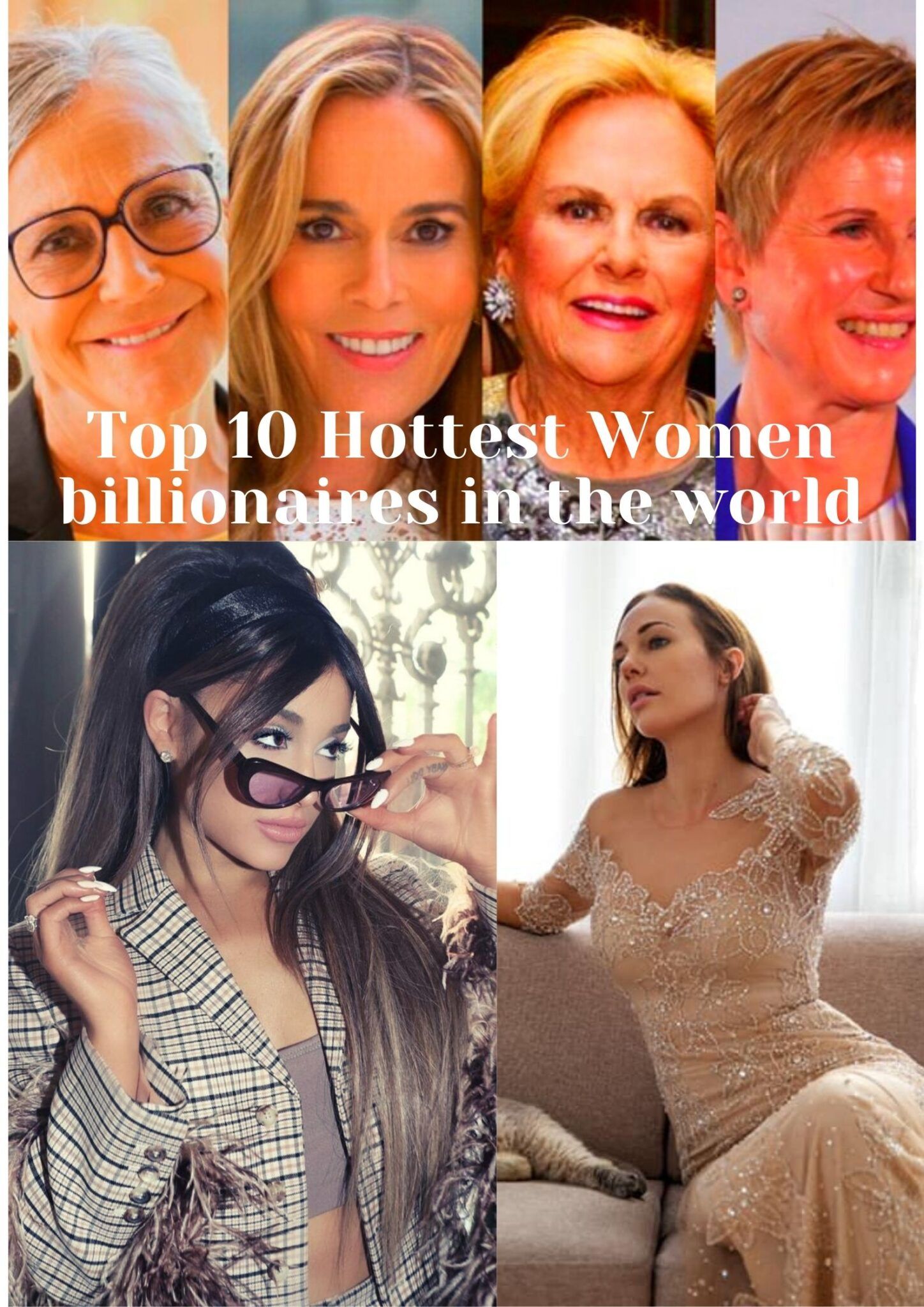 10 Most Beautiful And Rich Girls In The World